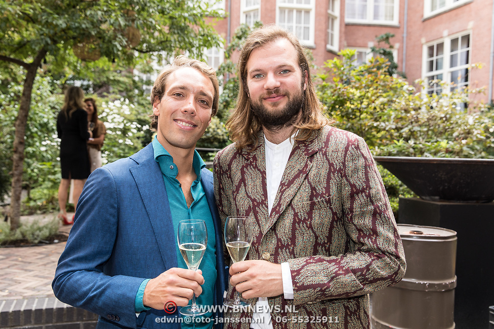 NLD/Amsterdam/20190910 - Lancering Platform Celebabs, Jeroen van den Boom en Tim Ouborg