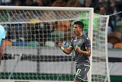 December 13, 2018 - Lisbon, Portugal - Sporting's forward Fredy Montero from Colombia celebrates after scoring a goal during the UEFA Europa League Group E football match Sporting CP vs FC Vorskla Poltava at Alvalade stadium in Lisbon, Portugal on December 13, 2018 (Credit Image: © Pedro Fiuza/ZUMA Wire)