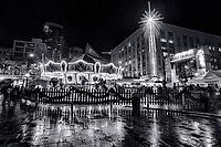 Holiday Carousel, Westlake Center, Downtown Seattle