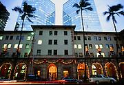 Christmas, Downtown Honolulu, Oahu, Hawaii