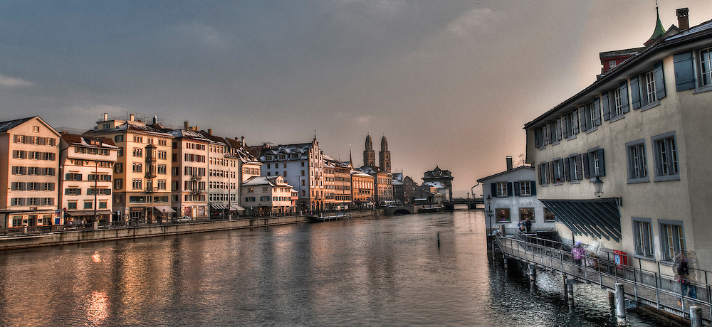Old city cityscape Zürich