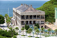 Murray House, Stanley, now home to the Hong Kong Maritime Museum. Victorian era, relocated from Central in Hong Kong in 1982 to 1999, Hong Kong, Hong Kong, August 2008   Photo: Peter Llewellyn