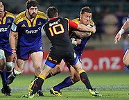 Rugby - S15 Highlanders v Chiefs