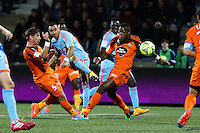 Goal Dimitri PAYET - 02.12.2014 -  Lorient / Marseille - 16eme journŽe de Ligue 1 <br />