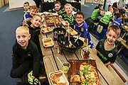 Birthday party in the Gym Bar during the EFL Sky Bet League 2 match between Forest Green Rovers and Scunthorpe United at the New Lawn, Forest Green, United Kingdom on 7 December 2019.
