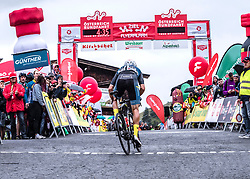 12.07.2019, Kitzbühel, AUT, Ö-Tour, Österreich Radrundfahrt, 6. Etappe, von Kitzbühel nach Kitzbüheler Horn (116,7 km), im Bild Matthias Krizek (AUT, Team Felbermayr Simplon Wels) // Matthias Krizek of (Austria Team Felbermayr Simplon Wels) during 6th stage from Kitzbühel to Kitzbüheler Horn (116,7 km) of the 2019 Tour of Austria. Kitzbühel, Austria on 2019/07/12. EXPA Pictures © 2019, PhotoCredit: EXPA/ Reinhard Eisenbauer