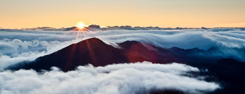 Hawaii, Haleakala, Crator, Sunrise