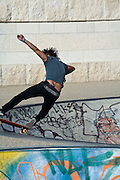 Skateboarding, Lyon, France