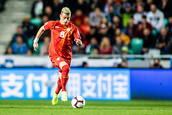 Egzijan Alioski of Macedonia during football match between National teams of Slovenia and North Macedonia in Group G of UEFA Euro 2020 qualifications, on March 24, 2019 in SRC Stozice, Ljubljana, Slovenia.  Photo by Matic Ritonja / Sportida