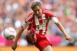 30.04.2011, Allianz Arena, Muenchen, GER, 1.FBL, FC Bayern Muenchen vs FC Schalke 04 , im Bild  Philipp Lahm (Bayern #21) , EXPA Pictures © 2011, PhotoCredit: EXPA/ nph/  Straubmeier       ****** out of GER / SWE / CRO  / BEL ******