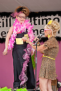 Emmaline Young competes in the Miss Honette Contest during Honfest 2014 in Baltimore, MD on Saturday, June 14, 2014.