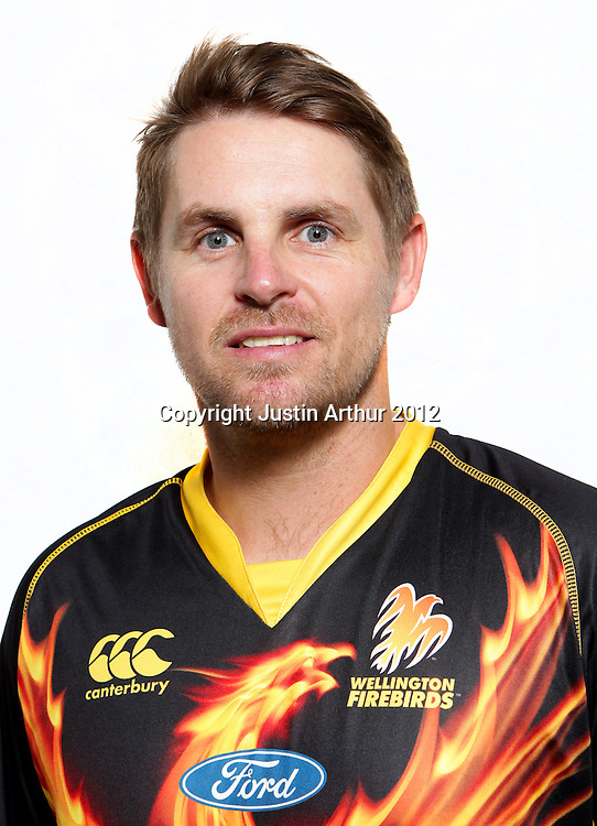 Michael Papps, Wellington Firebirds HRV domestic cricket headshots. Basin Reserve, Wellington, New Zealand on Friday 21 December 2012. Photo:Justin Arthur / photosport.co.nz