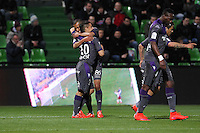 Joie Toulouse - Wissam BEN YEDDER - 04.04.2015 - Metz / Toulouse - 31eme journee de Ligue 1 <br />