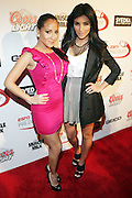 l to r: Adrienne Balion and Kim Kardision at The Sixth Annual ESPN Pre-Draft Party held at Espace on April 24, 2009 in New York City