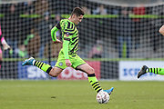 Forest Green Rovers Jack Aitchison(29), on loan from Celtic on the ball during the The FA Cup match between Forest Green Rovers and Carlisle United at the New Lawn, Forest Green, United Kingdom on 30 November 2019.