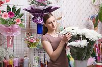 Female florist