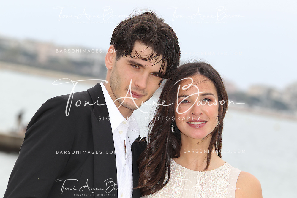 CANNES, FRANCE - APRIL 08:  Spanish actor Yon Gonzalez Luna and actress Paula Prendes Martinez attend photocall for 'Grand Hotel' at MIP TV 2013 on April 8, 2013 in Cannes, France.  (Photo by Tony Barson/Getty Images) *** Local Caption *** Yon Gonzalez Luna; Paula Prendes Martinez