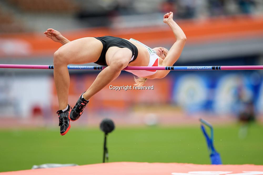 08.07.2016. Amsterdam, Holland. The European Athletics Championships.   Verena Preiner (AUT) womens high jump