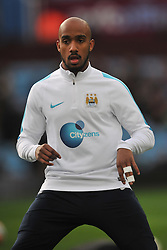 FABIAN DELPH MANCHESTER CITY, Aston Villa v Manchester City, The Emirates FA Cup 4th Round Villa Park Saturday 30th January 2016