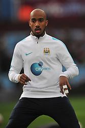 FABIAN DELPH MANCHESTER CITY, Aston Villa v Manchester City, The Emirates FA Cup 4th Round Villa Park Saturday 30th January 2016