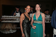 Annabel Thompson and Natasha Courtney-Smith, THE DINER DES TSARS in aid of UNICEF. To celebrate the launch of Quintessentially Wine, Guildhall. London. 29 March 2007.  -DO NOT ARCHIVE-© Copyright Photograph by Dafydd Jones. 248 Clapham Rd. London SW9 0PZ. Tel 0207 820 0771. www.dafjones.com.