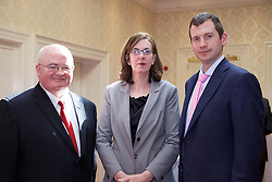 The Ireland - U.S. Council Spring Corporate Lunch on Friday, April 17, 2015 in Clyde Court Hotel, Lansdowne Road, Ballsbridge, Dublin.<br /> <br /> Aidan Prendergast, 	Cardinal Consulting.<br /> Marina Giblin,	Key Capital Private.<br /> Ian Kilcullen,	Key Capital.