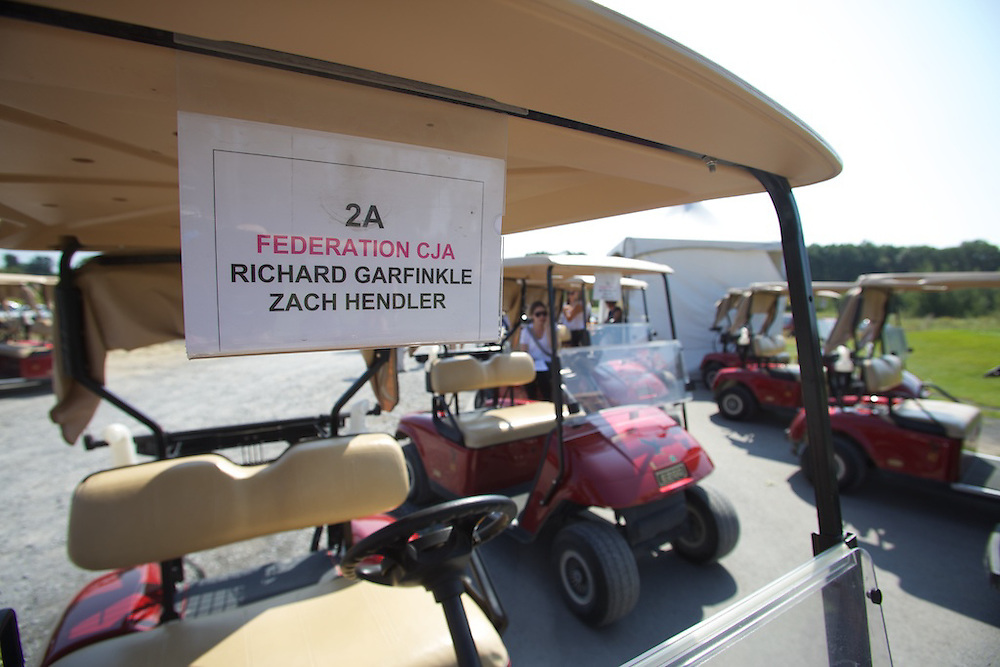 The CJA FedNext campaign holds its 6th annual Fairway to the Future Golf Tournament at Falcon Golf Club in Hudson, Quebec