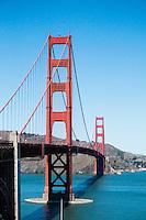 The Golden Gate Bridge on a Sunny Day, San Francisco, California
