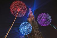 Dubai - Burj Khalifa laser show
