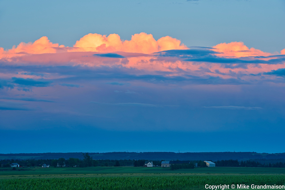 Storm clouds<br />Kamouraska<br />Quebec<br />Canada