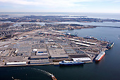 Maryland Port Administration Baltimore Terminals Aerial Photography