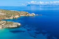 Grece, les Cyclades, ile de Donoussa, baie de Livadi // Greece, Cyclades islands, Donoussa island, Livadi bay