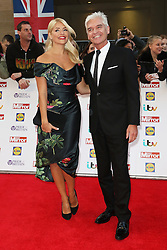 Holly Willoughby, Phillip Schofield, Pride of Britain Awards, Grosvenor House Hotel, London UK. 28 September, Photo by Richard Goldschmidt /LNP © London News Pictures