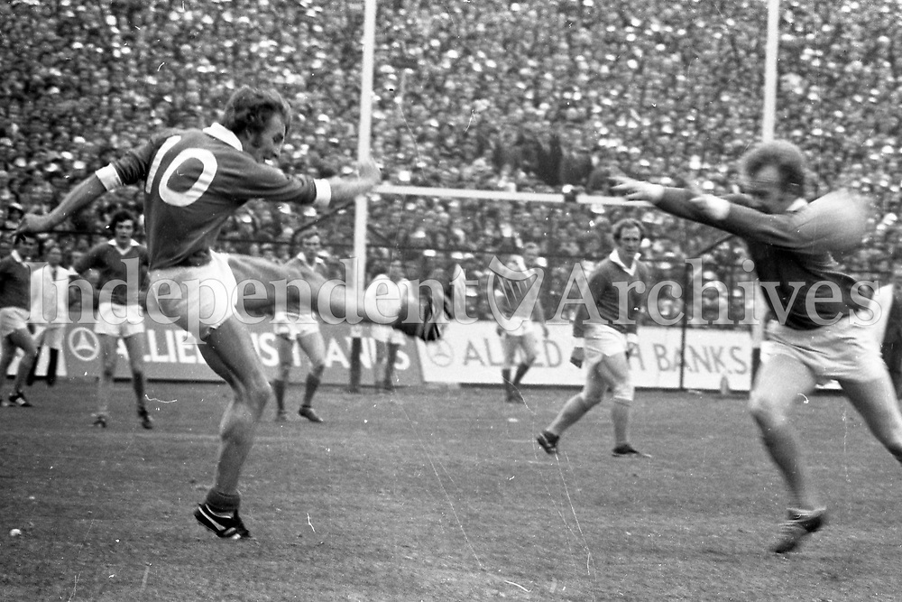 IND972.951<br /> 1972 GAA Football Final Kerry v Offaly.<br /> (Part of the Independent Newspapers Ireland/NLI collection.)