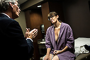 Its two weeks and one day after her mastectomy, and the discovery that the cancer spread to her lymph nodes. Stacey went back to Columbus to talk with Dr. Lilly about her new treatment plan.
