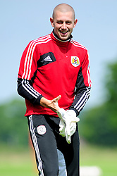 Bristol City's new signing Frank Fielding - Photo mandatory by-line: Dougie Allward/JMP - Tel: Mobile: 07966 386802 27/06/2013 - SPORT - FOOTBALL - Bristol -  Bristol City - Pre Season Training - Npower League One