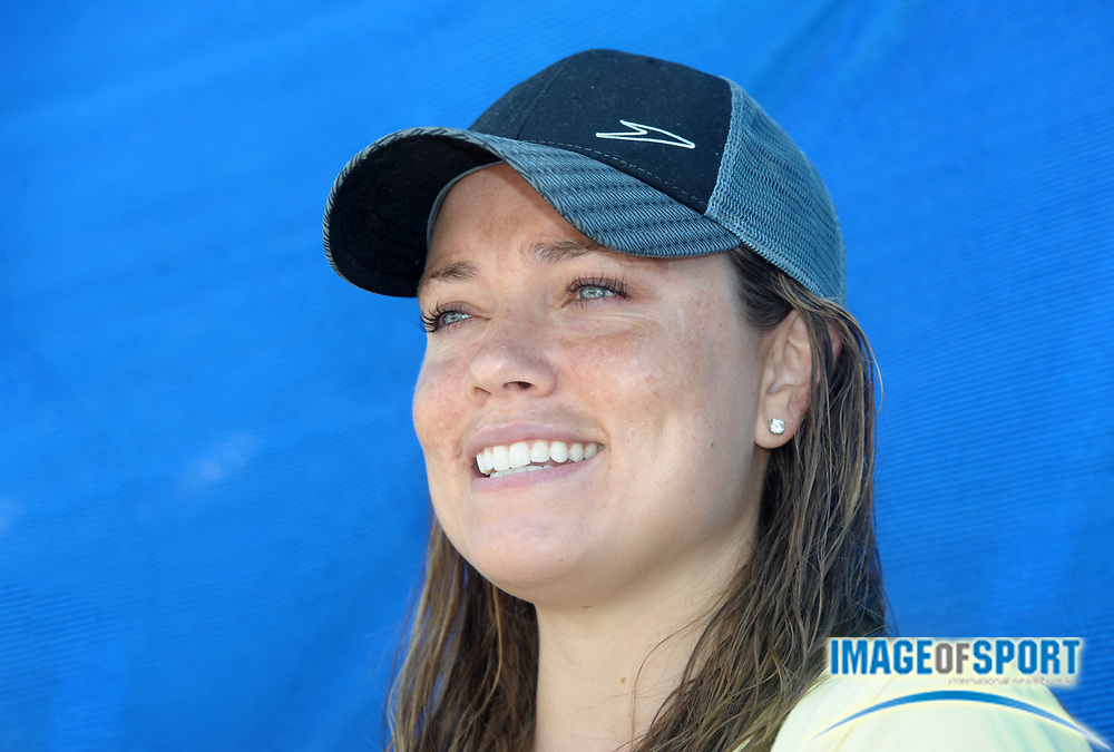 Aug 2, 2010; Irvine, CA, USA; Natalie Coughlin at the 2010 USA Swimming National Championships media day at William Woollett Jr. Aquatics Center. Photo by Image of Sport