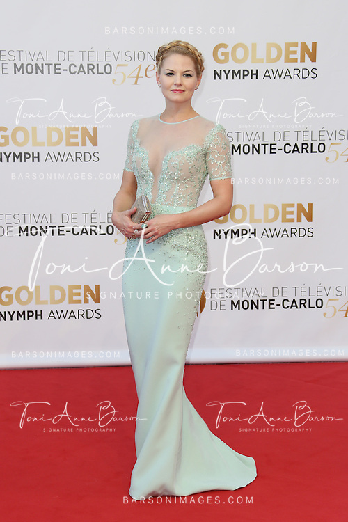 MONTE-CARLO, MONACO - JUNE 11:  Jennifer Morrison attends the Closing Ceremony and Golden Nymph Awards of the 54th Monte Carlo TV Festival on June 11, 2014 in Monte-Carlo, Monaco.  (Photo by Tony Barson/FilmMagic)