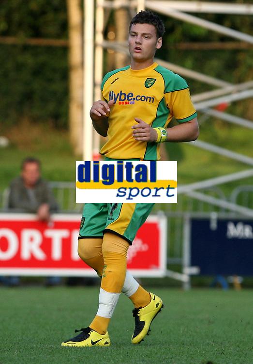 Photo: Maarten Straetemans.<br /> FC Zwolle v Norwich City. Pre Season Friendly. 25/07/2007.<br /> Chris Martin (Norwich City)