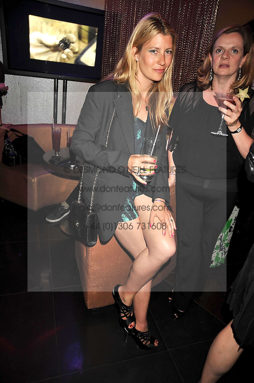 SARA PARKER-BOWLES at a party to celebrate the new Stephen Webster store on Mount Street, London W1 followed by a dinner at Maddox, Mill Street, London on 24th June 2009.
