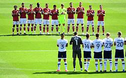 Bristol City and Millwall players and fans observe a minutes applause  - Mandatory by-line: Joe Meredith/JMP - 19/08/2017 - FOOTBALL - Ashton Gate Stadium - Bristol, England - Bristol City v Millwall - Sky Bet Championship