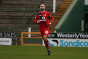 York City midfielder Russell Penn  during the Sky Bet League 2 match between Yeovil Town and York City at Huish Park, Yeovil, England on 2 January 2016. Photo by Simon Davies.