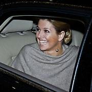 NLD/Amsterdam/20101129 - Prinses Máxima reikt Prins Bernhard Cultuurfonds Prijs 2010 uit Muziekgebouw aan het IJ