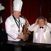 Kerstborrel Princess 2004, Cas Spijkers en Tony Eyk