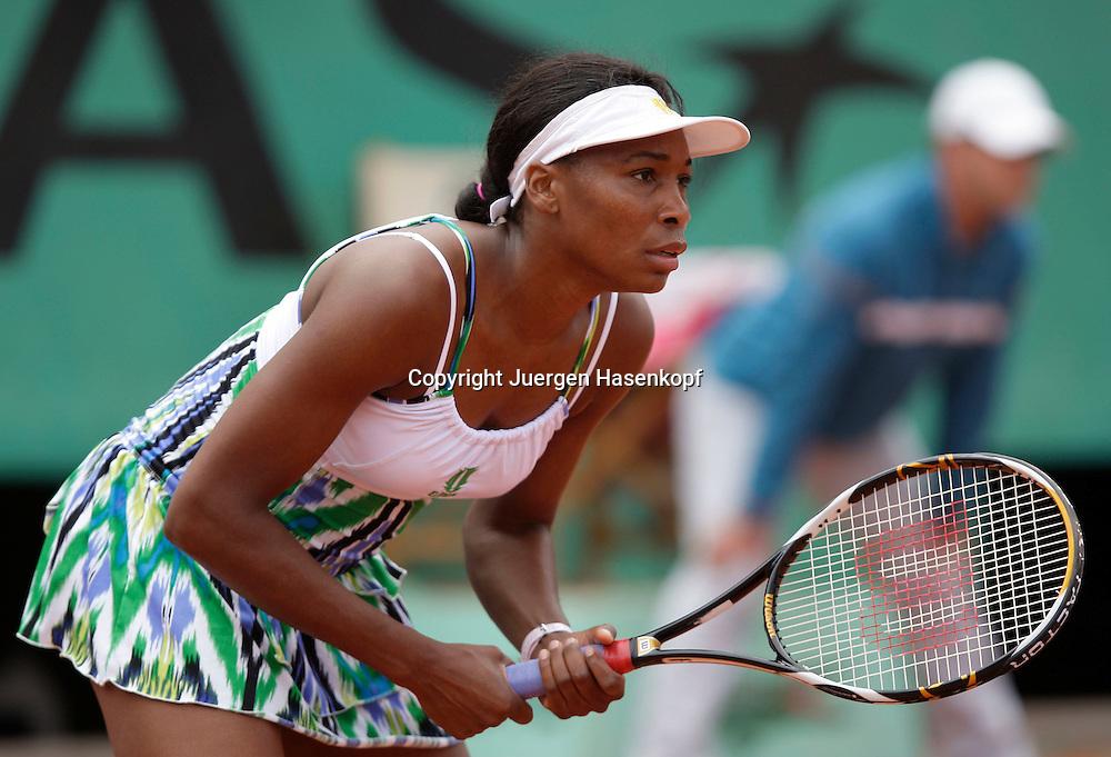 French Open 2009, Roland Garros, Paris, Frankreich,Sport, Tennis, ITF Grand Slam Tournament,  ..Venus Williams (USA)..Foto: Juergen Hasenkopf..