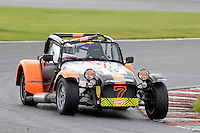 #8 Simon Sharrock Caterham Roadsport during the Avon Tyres Caterham Roadsport Championship at Oulton Park, Little Budworth, Cheshire, United Kingdom. August 13 2016. World Copyright Peter Taylor/PSP.