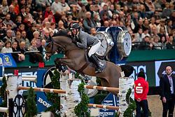 BEERBAUM Ludger (GER), Cool Feeling<br /> Leipzig - Partner Pferd 2019<br /> Longines FEI Jumping World Cup<br /> Sparkassen-Cup - Grosser Preis von Leipzig<br /> 20. Januar 2019<br /> © www.sportfotos-lafrentz.de/Stefan Lafrentz