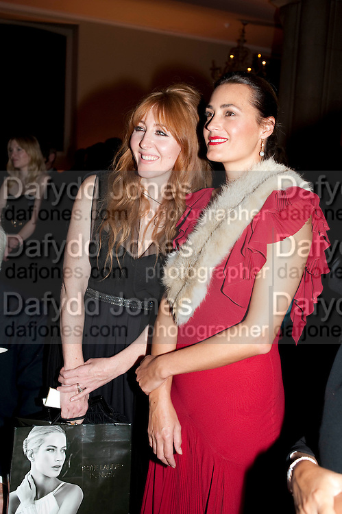 CHARLOTTE TILBURY; YASMINE LEBON, Harpers Bazaar Women of the Year Awards. North Audley St. London. 1 November 2010. -DO NOT ARCHIVE-© Copyright Photograph by Dafydd Jones. 248 Clapham Rd. London SW9 0PZ. Tel 0207 820 0771. www.dafjones.com.