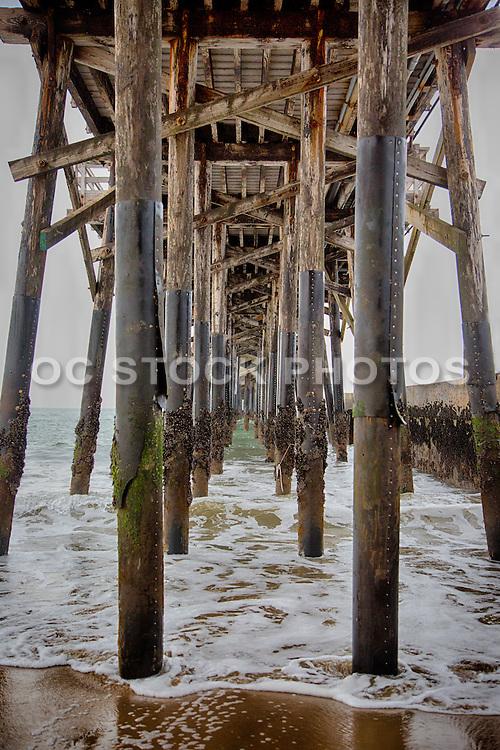 Under The Seal Beach Pier
