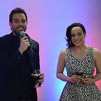 Metepec, México.- Mane de la Parra, actor mexicano, durante la inauguración de la escuela de actuación PROART . Agencia MVT / Arturo Hernández.